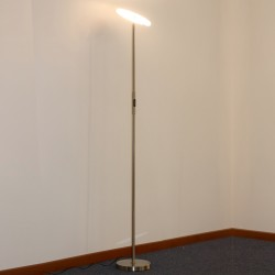 LED Floor Lamp Aten Nickel 30W