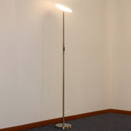 30W LED FLOOR LAMP- ATEN NICKEL