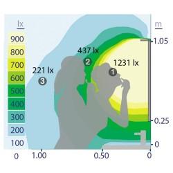 aplique baño led 15w 4000K zaragoza cromo