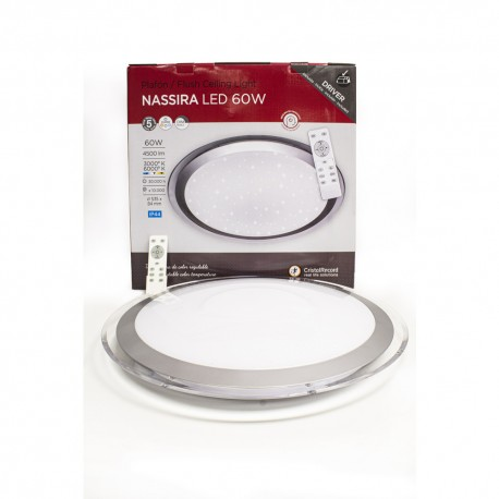 PLAFON LED 60W DIMMABLE 3 TEMPERATURAS NASSIRA