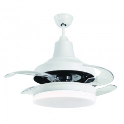 Ventilador DC Bell LED 50W CCT dimmable
