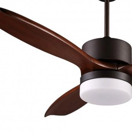 Ventilador LED 3 palas 132cm - Yarta wengue