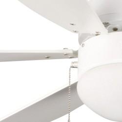 Ventilador 6 palas 76cm -  Tabit blanco