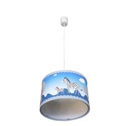 ANIMALS BLUE PENDANT CEILING LAMP