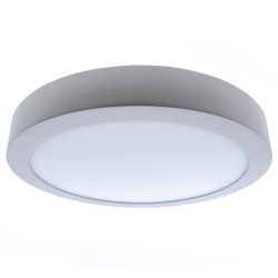 Plafón LED 6W 4000K Know redondo blanco