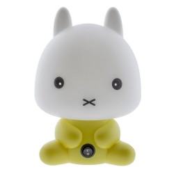 Yellow Rabbit Nursery Table Lamp