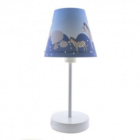 ANIMALS BLUE TABLE LAMP