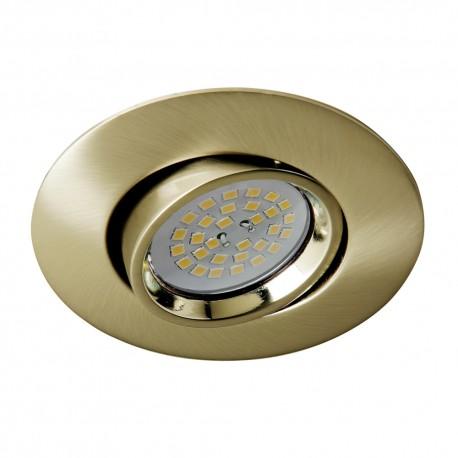 Terra Recessed Light Antique Brass