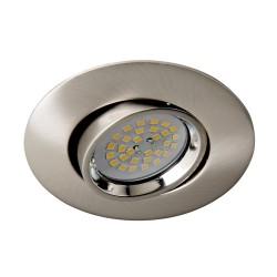 Terra Recessed Light Nickel