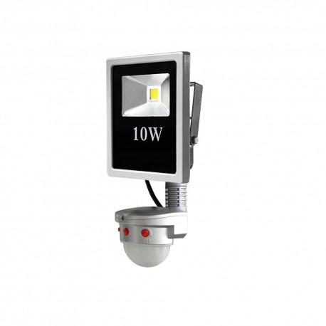 PROYECTOR LED CON SENSOR (10W)