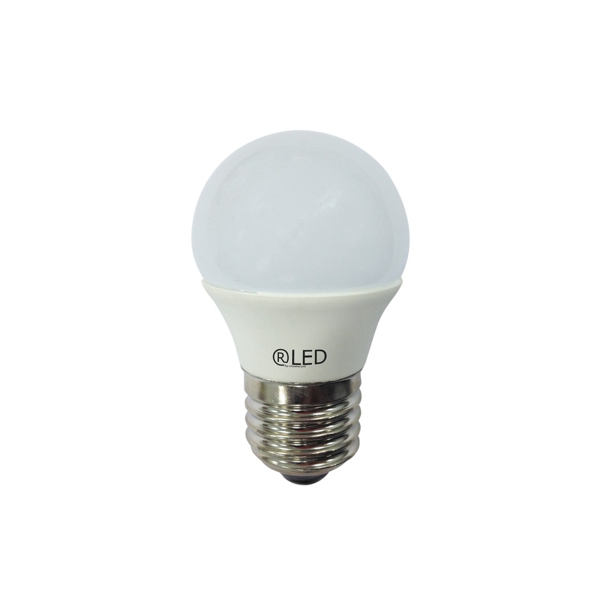 Bombilla LED esférica, E27, 6 W, 4200 K, 470 Lm.