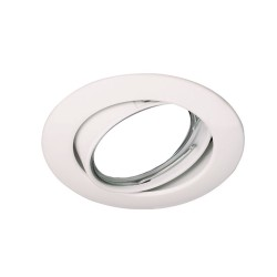 Zar Recessed Light White