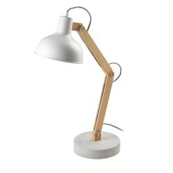 Aspen LED Desk Lamp – White