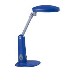Flexo Flor de bajo consumo 9W. Azul
