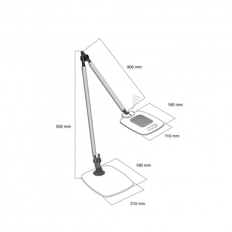 10W LED DESK LAMP DISCOVERY