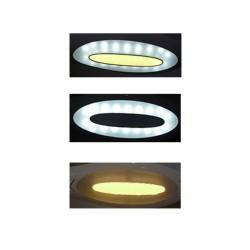 Flexo LED táctil 10W - SEDAN PLATA