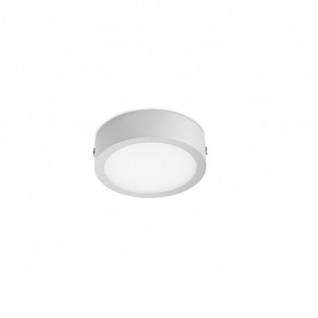 LED Flush ceiling Lamp 8W 3000K Kaju grey