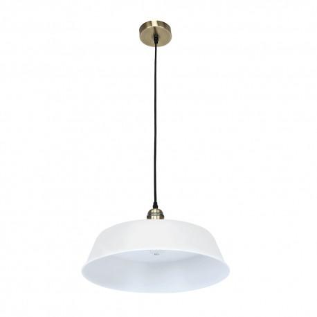 """Lámpara LED """"PARIS"""" E27 BLANCO MATE"""