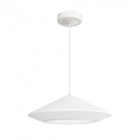 Lámpara de techo blanca 25w Hat
