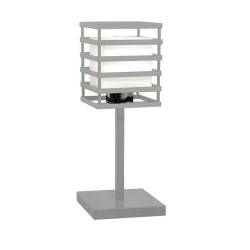 Cell Table Lamp – Silver