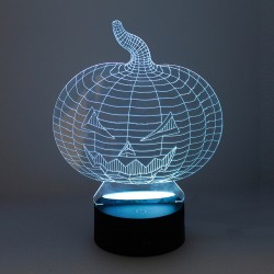 Lampe de table Halloween 3D...