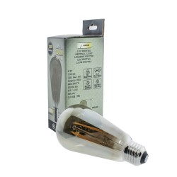 Smoke LED Bulb ST64 8W 4000K