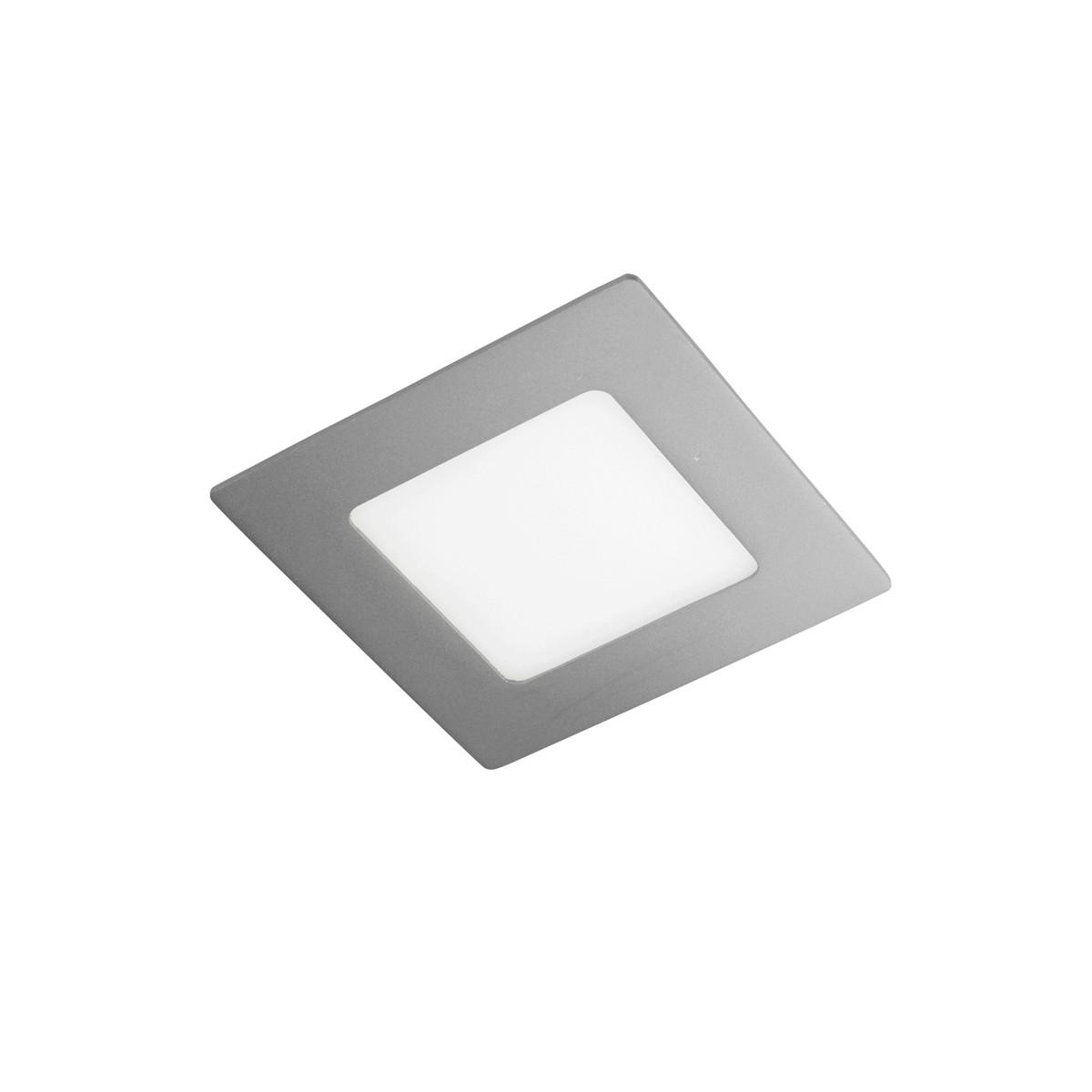 Novo Plus LED Downlight SQ 6W Grey