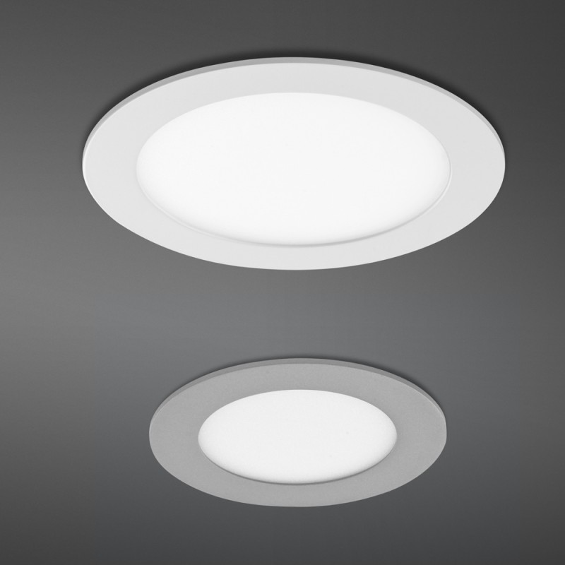 Novo Plus LED Downlight RD 12W Grey