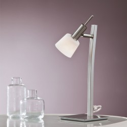 New Kaster Table Lamp Nickel