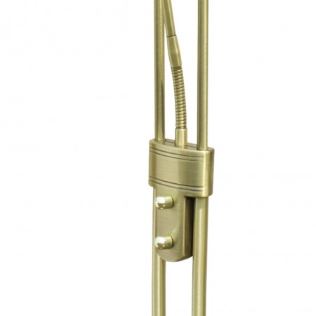 Lampa LED Floor Lamp 18W+5W 3000K Antique Brass