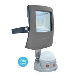 LED Flood Light 10W Pir Sensor Cold Light