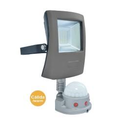 LED Flood Light 10W Pir Sensor Warm light
