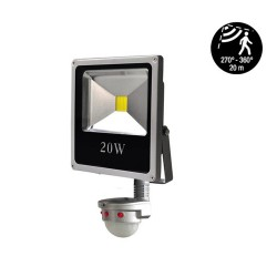 LED Flood Light 20W Pir Sensor 6000K 1600Lm IP65