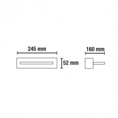 OR LED Wall Light 18W 3000K 1170Lm White