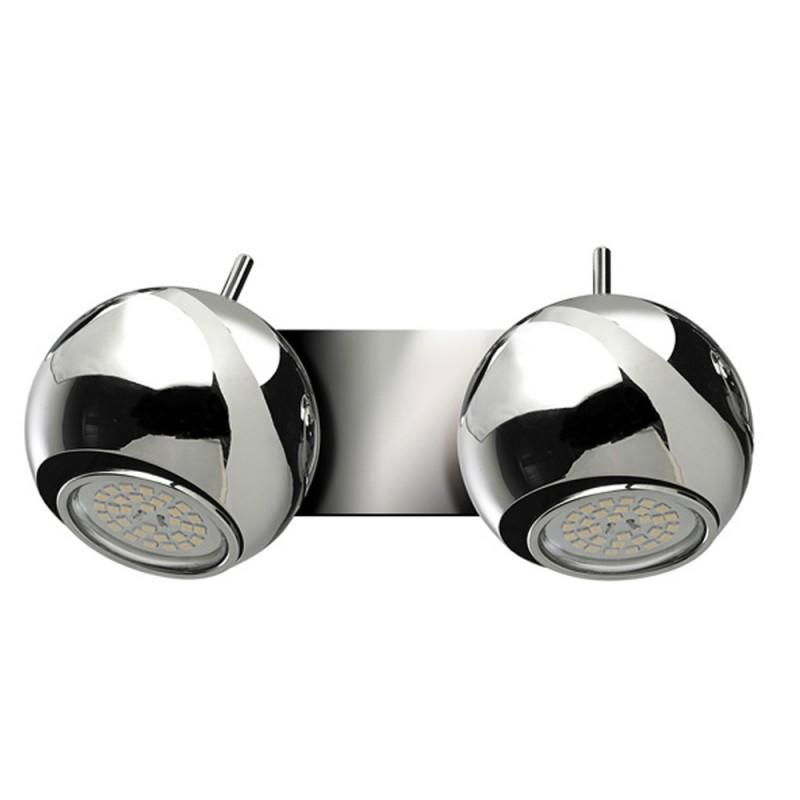 Sonar Double Wall Spotlight 2XGU10 Polish Chrome