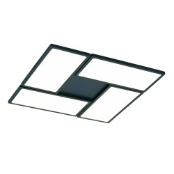 New Or Black Dimmable LED Flush Light 60W 3000K