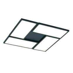 New Or Black Dimmable LED Flush Light 60W 3000K