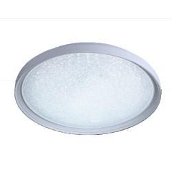 Gloss Dimmable LED Flush Light 40W 2800Lm CCT