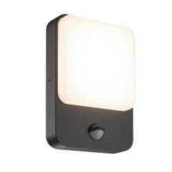 Sun Outdoor LED Wall Lamp IP54 8W 4000K Motion Sensor
