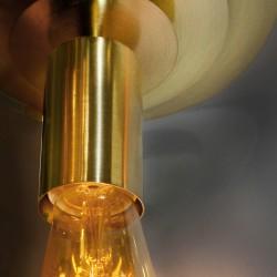 Colgante Portalámparas Oro Viejo Saturno