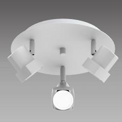 Moka 3-Light Ceiling Plate White