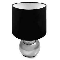 New Touch Control Table Lamp Black