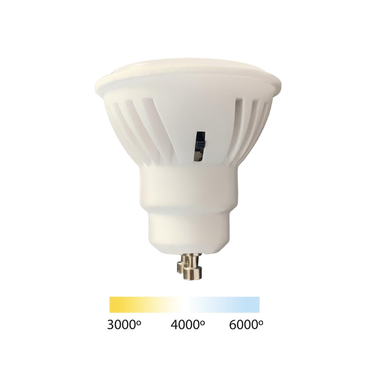 GU10 8.2W CCT bulb with switch