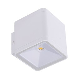 Antop Outdoor LED Wall Lamp IP54 2x6W 4000K White