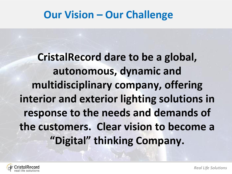 Vision of CristalRecord