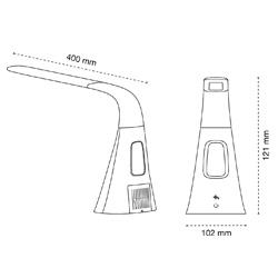 medidas flexo led ventilador